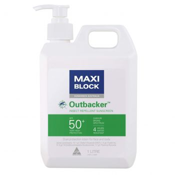 Maxiblock Outbacker SPF50+ with insect repellent (1 Kg)