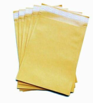 1000x Premium Business Envelope Yellow 04 230x330mm A4 Laminated Paper Mailer