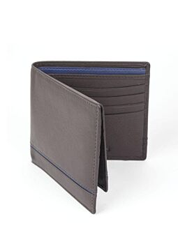 Natural Grain Leather Wallet and Removable Card Holder with RFID Blocking Protection