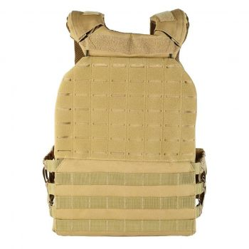 GND Weighted Tactical Vest - Vest Only / Tan