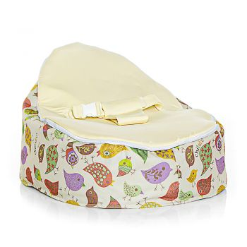 Chibebe Chirpy Baby Bean Bag - Cream
