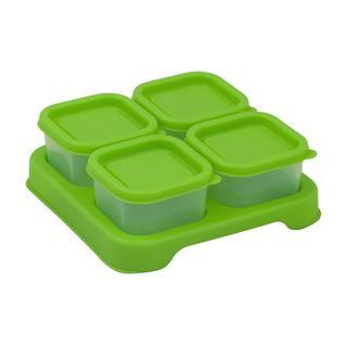 Fresh Baby Food Unbreakable Cubes (2oz/4pk)-Green-Adult use only