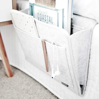 Beddy | The Original Bedside Organiser -Silver