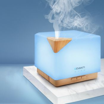 Devanti Ultrasonic Aromatherapy Diffuser Aroma Humidifier Essential Oils Air Oil