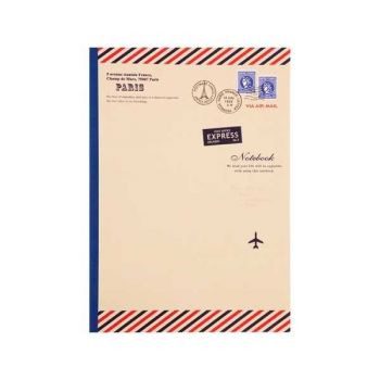Paris Notebook-Air Mail