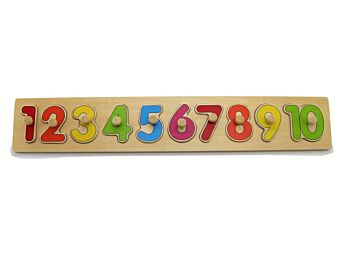NUMBER PUZZLE WITH PEG