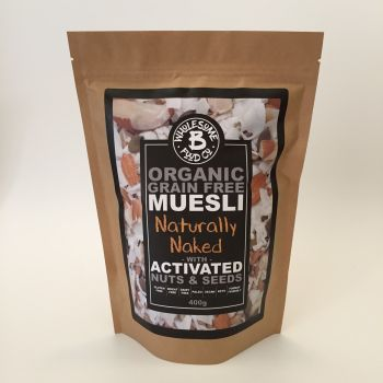 Organic Grain Free Muesli - Naturally Naked 400g (WS)