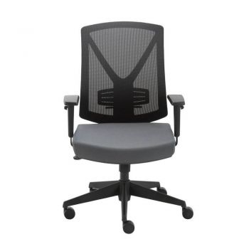 Miro Mesh Ergonomic Back Executive Task Office Chair - Black/Grey