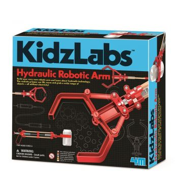 4M - KidzLabs - Hydraulic Robotic Arm