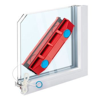 Tyroler BrightTools Glider D-2 Magnetic Window Cleaner  For Double Glazed Windows With Window Thickness Up To 20 Mm.