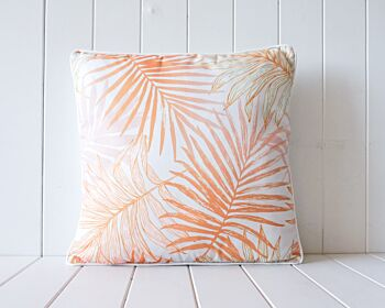Outdoor Cushion - Tropical Leaves - 45x45