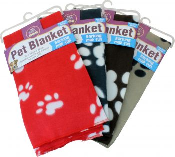 Dog Throw Blanket 70x70cm 180g