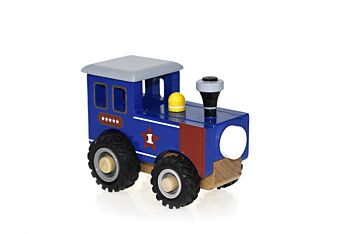 KD WOODEN TRAIN ENGINE