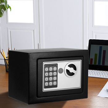 Electronic Safe Digital Security Box Home Office Cash Deposit Password 6.4L
