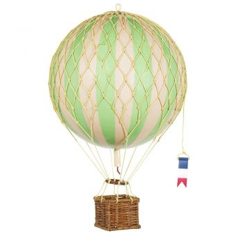 Floating The Skies Hot Air Balloon Model 8.5 CM True Green