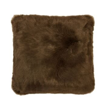 Faux Fur Cushion 50x50cm Hazel