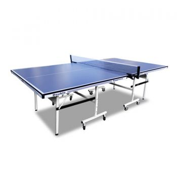 New 19MM DOUBLE HAPPINESS PING PONG TABLE TENNIS TABLE BLUE TOP