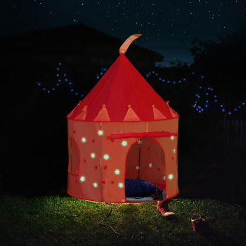 BoPeep Princess Castle Style Kids Pop Up Playtent Play House Glow in the Dark