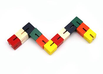 WOODEN TWIST & LOCK BLOCKS
