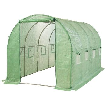 Greenhouse Garden Plastic Storage Shed House Tunnel