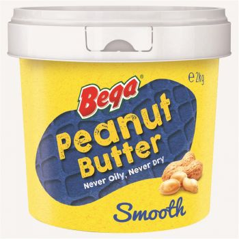 Peanut Butter Smooth - 2kg Bucket