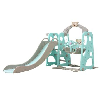BoPeep Baby Slide and Swing Playset in Blue Colour