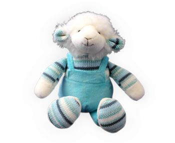 Plush Toy Lamb - Blue