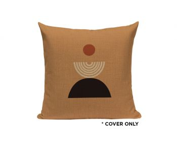 Indoor Cushion COVER - Abstract Rust - 45x45