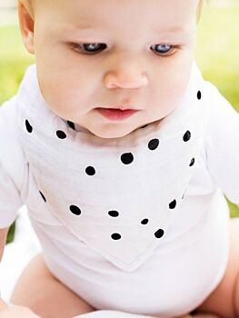 Dottie Oh-So-Soft Muslin Bandana Bib