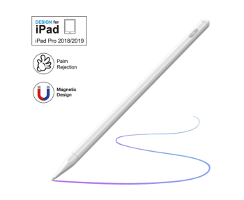 NexGen Active Stylus Pen For iPad Pro 11/10.3/10.5/12.9/9.7 Prevent Accidental Touch Magnetic Capacitive Apple Pencil