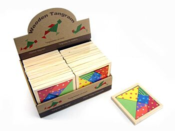 PATTERNED TANGRAM PUZZLE