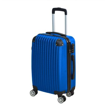 """Travel Lightweight Luggate Suitcase Set 28"""" in Blue Colour"""