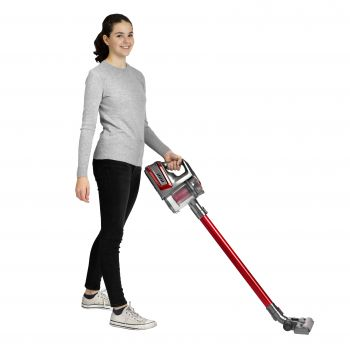 RED CORDLESS VACUUM CLEANER