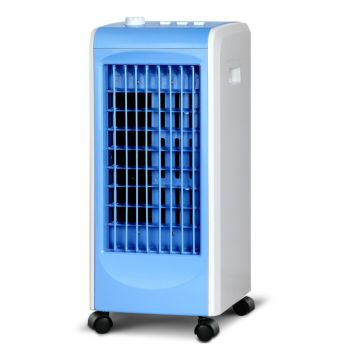 Devanti 2L Evaporative Air Cooler Portable Fan Water Cool Mist Conditioner Humidifier Blue