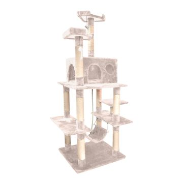 PaWz 1.83M Cat Scratching Post Tree Gym House Condo in Beige