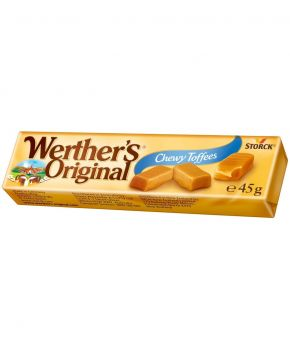 Werthers Original Chewy Toffees Roll, 24 x 45g