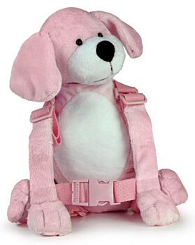 2 in 1 Harness Buddy Pink Puppy