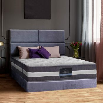 Giselle Bedding Single/King Single/Double/Queen/King Size Mattress Bed Size 7 Zone Pocket Spring Medium Firm Foam 30cm