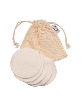 Willow + Reed Makeup Remover Pads - Set of 6 With Laundry Bag