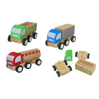 Assembly Trucks 6PCS/BOX
