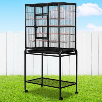 i.Pet Bird Cage Pet Cages Aviary 160CM Large Travel Stand Budgie Parrot Toys