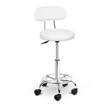 Artiss 2x Salon Stool Swivel Barber Chair Backrest Hairdressing Hydraulic Height