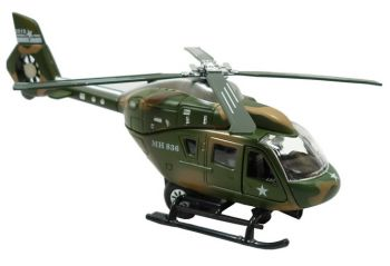 Die Cast Military Helicopter