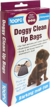 Dog Clean Up Bags 100pc