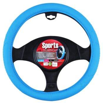 Sports Steering Wheel Cover - Blue