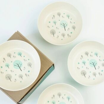 The EcoCubs Original Set of 4 Bowls