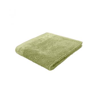 Costa Cotton Face Washer 33x33cm Wasabi