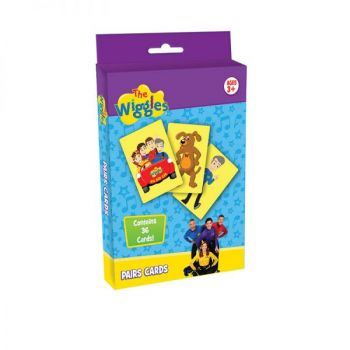 The Wiggles® Pairs Card Game (with CDU)
