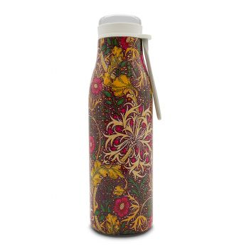 William Morris 'Seaweed' Stainless Steel Water Bottle 500ml