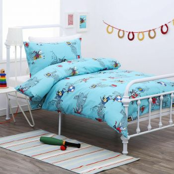 Dreamaker Kid's Knight Quilt Cover Set